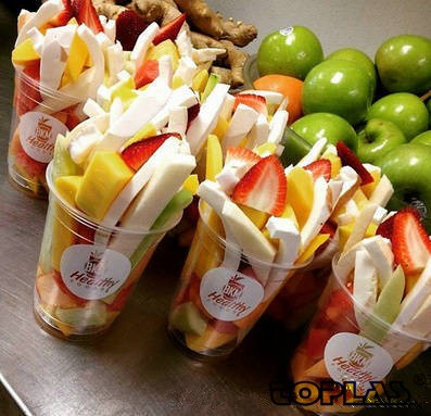 Hot sales disposable fruit salad cup