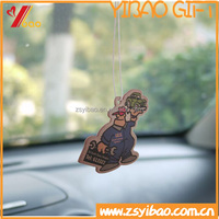Hot sale customize shape hanging paper type car / room air freshener