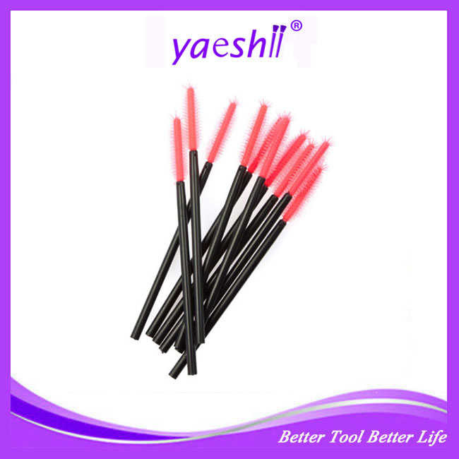 Yaeshii Multicolor Disposable Mascara Wands Eyelash Brushes Eye Lash Brush Eyebrow Applicator Makeup Applicators Brush Kit