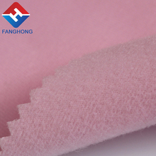 Manufacturer 100% polyester tricot brushed fabric 100 % Wholesale