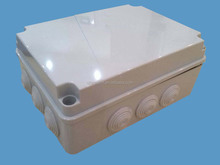 Beautiful outdoor plastic switch box for electrical industry