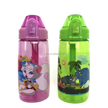 School water bottle for children with One-click opener