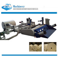 paper slitting and rewinding and cutting machine small