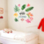 Removeable beautiful flower vinyl wall sticker for room decoration
