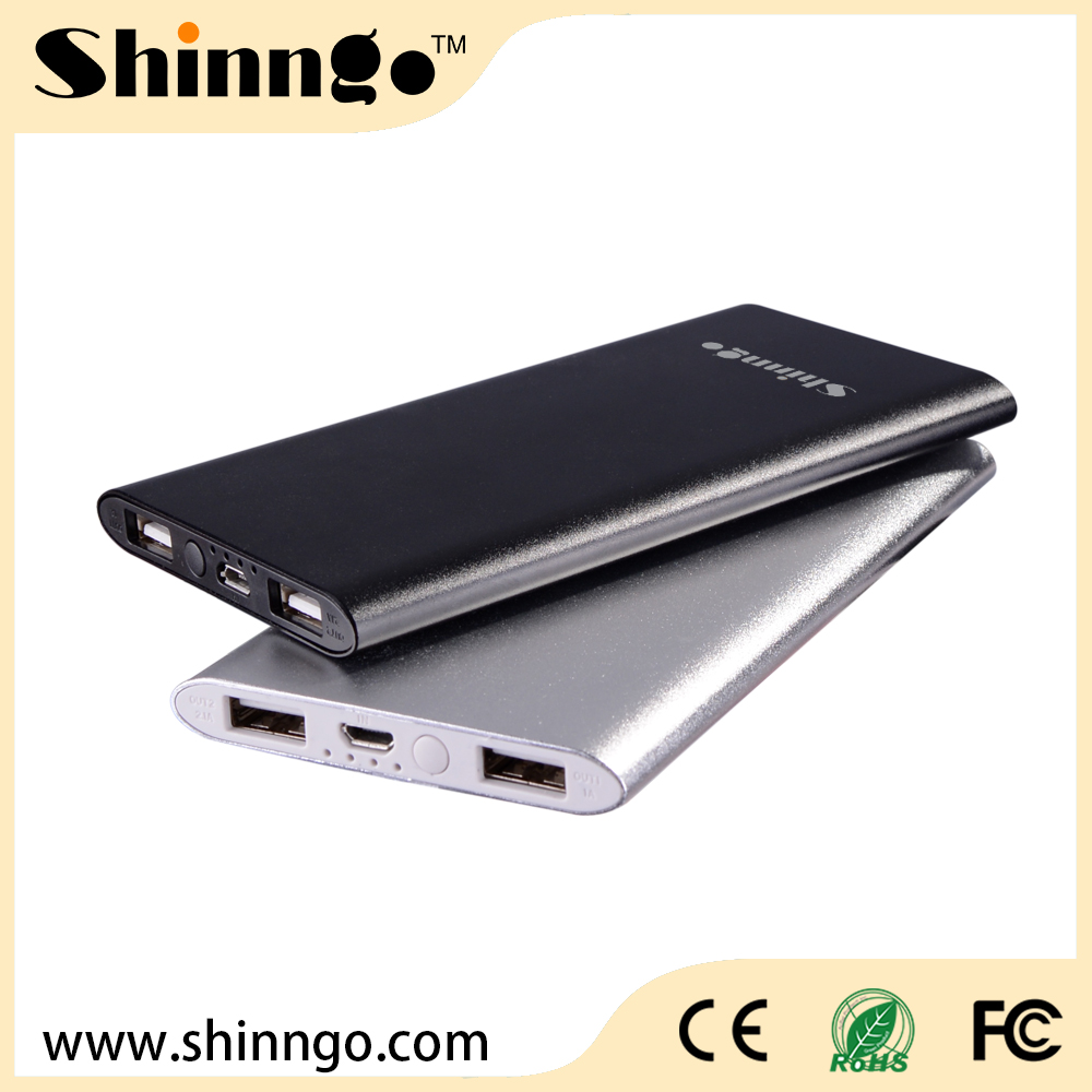 4000mAh Beauty Lady ultra thin Metal case power bank, andriod phones,Silver color