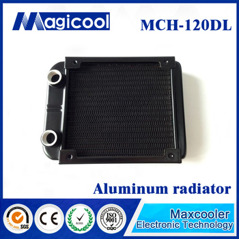 Best Quality aluminum Radiator for computer 33mm thickness 120mm length