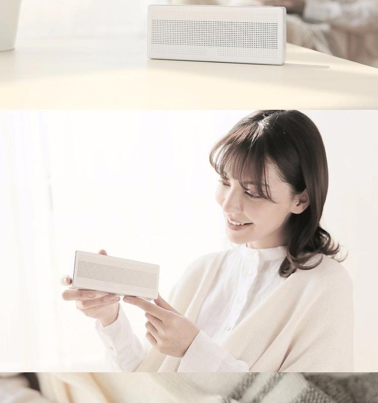 2017 New Original Xiaomi Mi Bluetooth Haut-Parleur Portable Sans Fil Mini Boîte Carrée Bluetooth 4.0 Haut-Parleur pour IPhone et Android