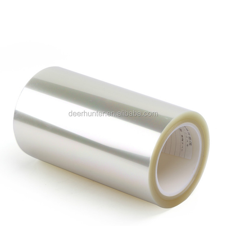 Self Adhesive PET Anti Glare Protective Film , Mobile Phone / Tablet PC Screen Protective Film