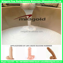Skin Safe Liquid Silicone Rubber for Artificial Penis Molding