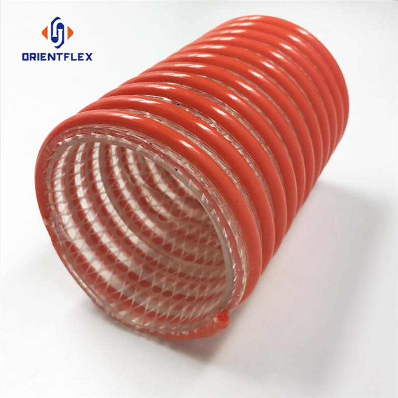 PVC Flexible Suction Hose Pipe with Fittings