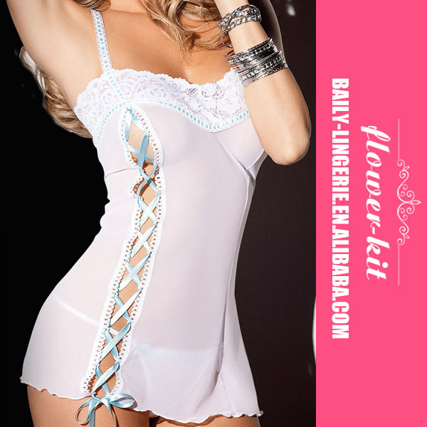 2015 Newest design extreme sexy hot babydoll lingerie