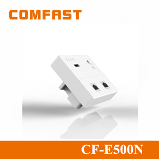 2015 Comfast 300Mbps WiFi Wireless Wall AP Module for Hotel Broadband Wireless Mini Inwall Openwrt Access Point CF-E500N
