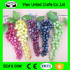 Decorative Realistic Artificial Fruits, Clusters Of Grapes