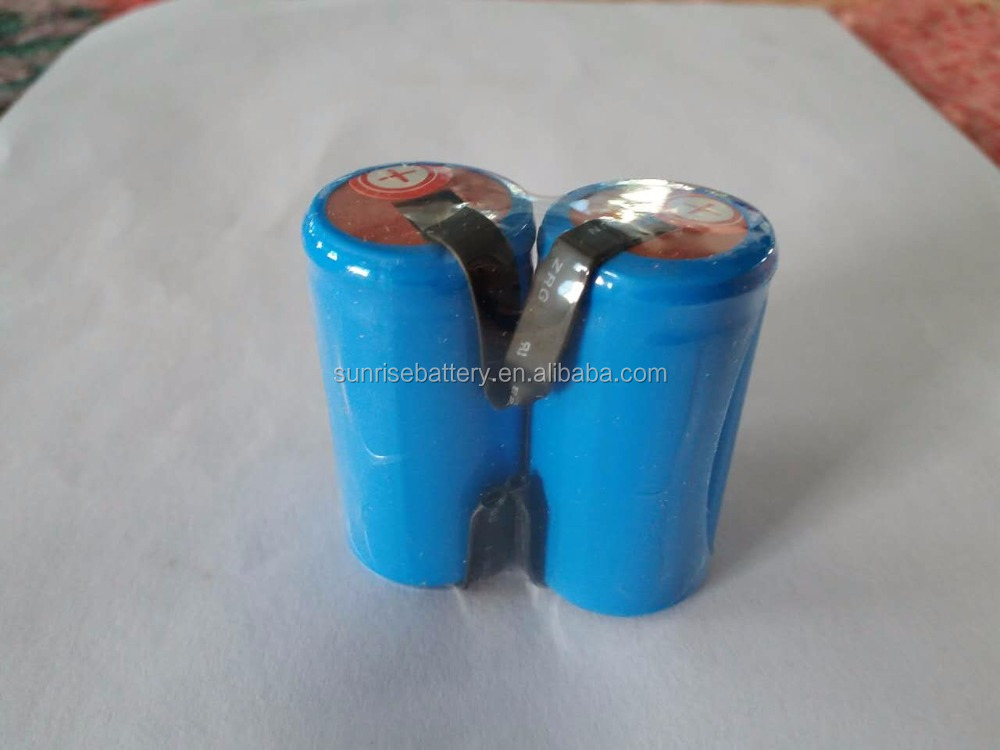 high power NI-CD SC 2500mah 1.2v rechargeable batteries/ni-mh Sub C 3A battery with tabs