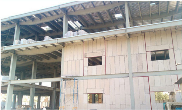 Precast light weight eps sandwich wall partition board