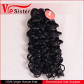 Vipsister Hair Italian curly cheveux humains tissage chinois usine no tangle no shed