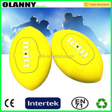 customized competitive price newest design league mini rugby ball
