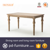 Best selling home furniture design table antique wooden dining table