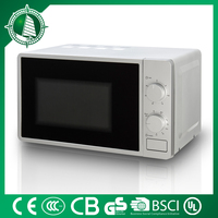 CE GS certificate countertop electric oven yellow microwave oven