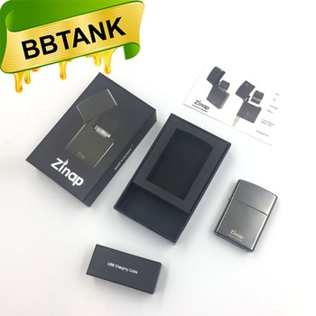BBtank New Release Zinap vape pen cartridge .5ml with 410mAh battery easy carry and good to play