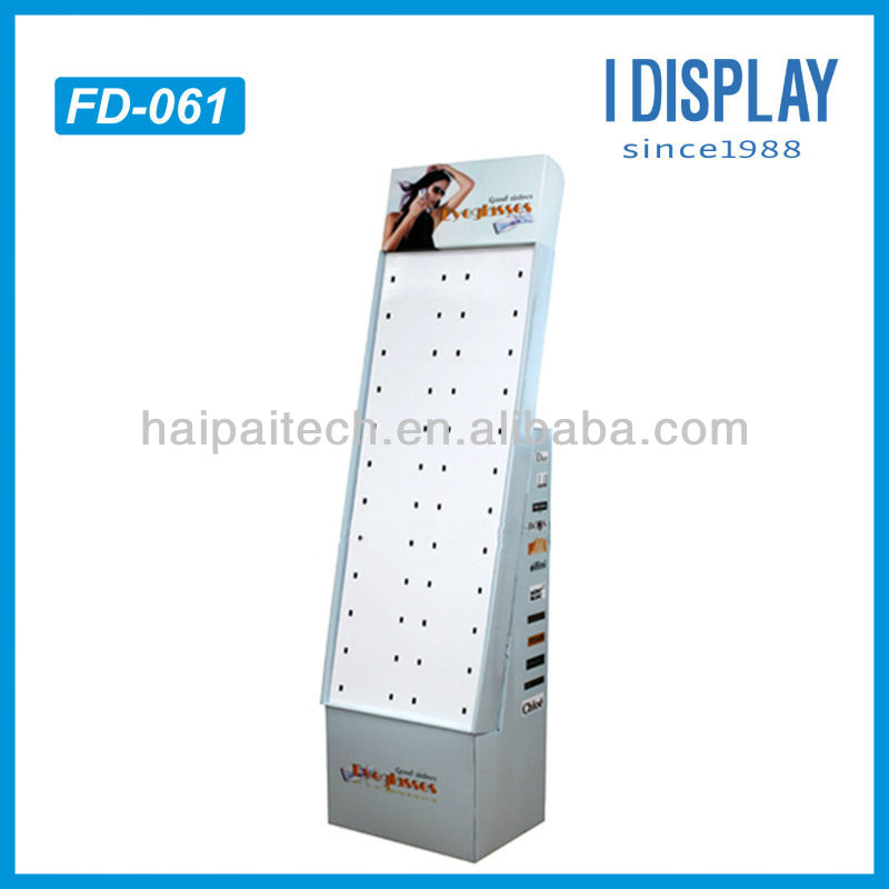 jewelry display hook paper display stand for hanging