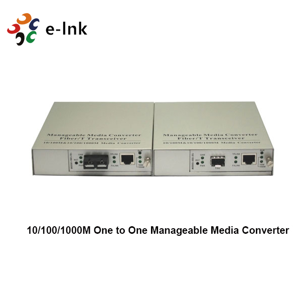 standalone managed ethernet fiber media converter
