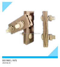 electrical line hardware transmission galvanized parallel groove clamp