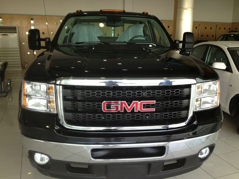 GMC SIERRA PICKUP 4X4, DULLY, 3500 HD, 2012 MODEL