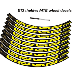 E13 thehive mtb rim stickers E13 bicycle stickers bike wheelset stickers MTB rims decals