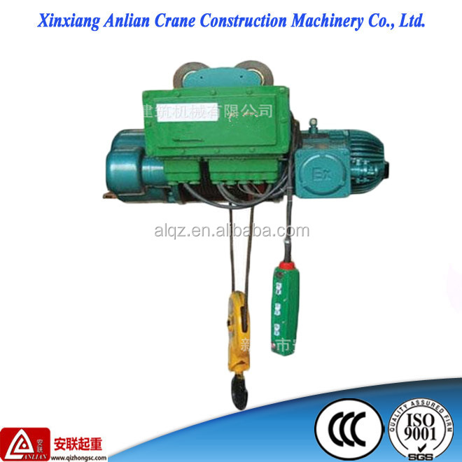 small construction hoist 2T light duty explosion-proof hoist