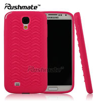 Hotpink Mobile Phone Accessories For Samsung I9500 Galaxy S4 TPU Sublimation New Arrival Cell Case cover