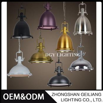 Round indoor hanging ceiling aluminum led modern pendant lamp