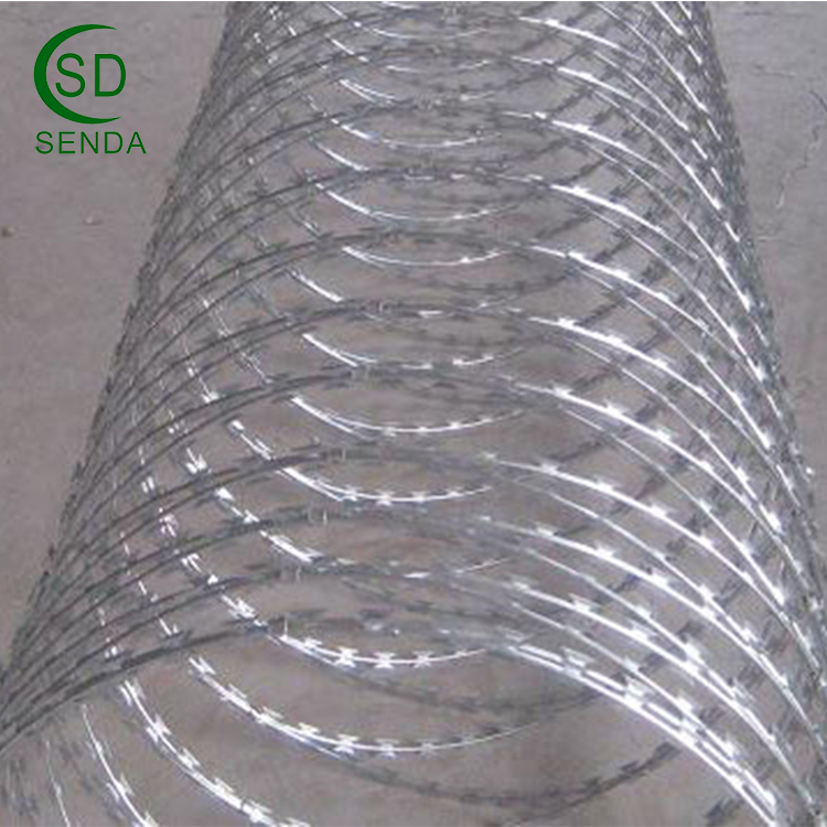 Stainless Steel Razor Barbed Wire From Anping