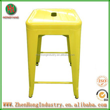 Hongyang Excellent metal chair in bar stools/Metal frame chairs/French metal garden chairs