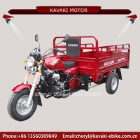 New Products Cheap Adult Tricycle Motorized 150cc Vehicle Air Cooled Engine Three Wheel Cargo Tricycle for Sale
