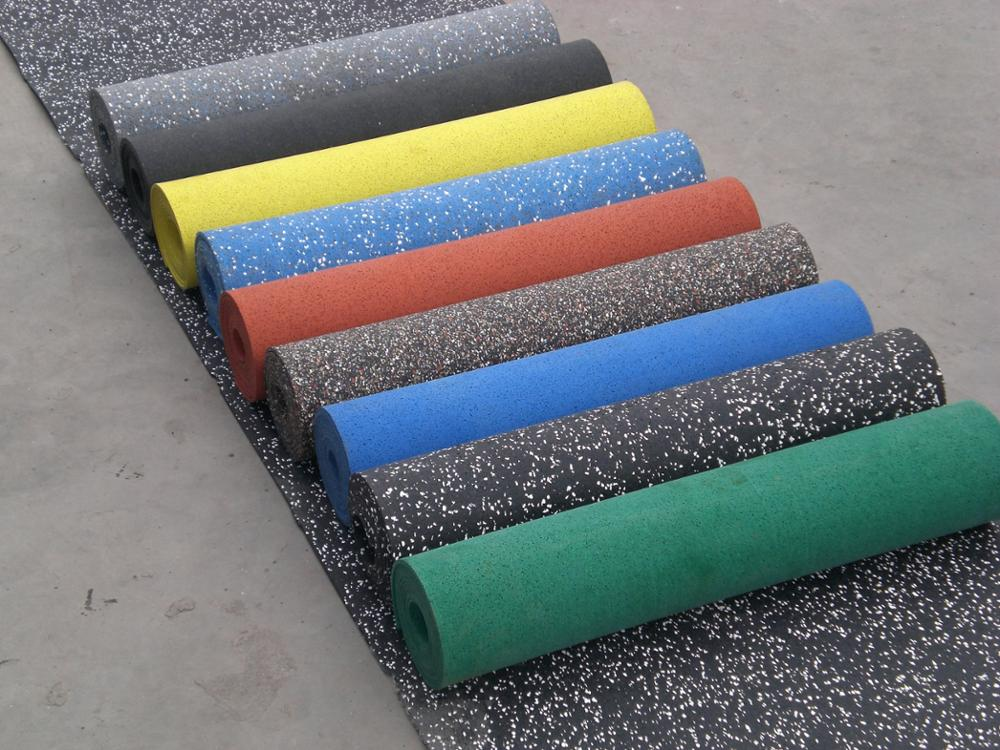 2017 High-quality Low-price Noise-proof EPDM/SBR rubber flooring mat/ carpet/roll