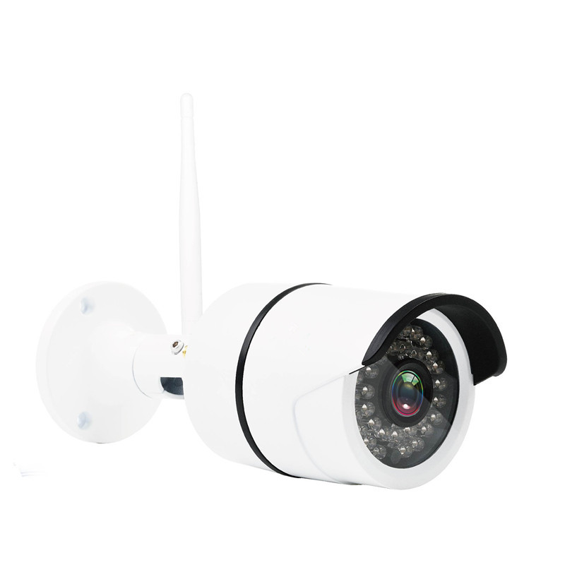 Home/Garden Protection Outdoor Waterproof IP 66 Wifi Wired Lens 6MM Infrared IR 35M CCTV Full HD Bullet IP Camera