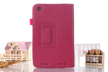 Tablet Book Cover Photo Frame Stylus Holder Leather Folder Flip Case for Lenovo Tablet Yoga B8000