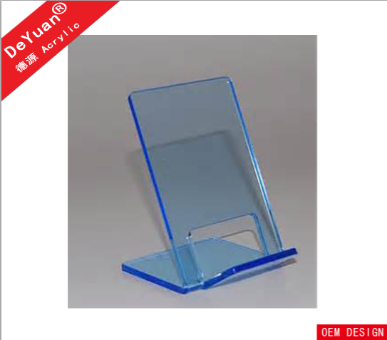 Acrylic Single Book Display Stand / Brochure Holder Reading
