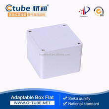 120*120*61mm standard cover housing box plastic ip68 plastic electrical cabinet