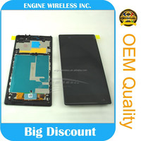 Direct factory sale for Sony Xperia Z1 C6902 Assembly Full Lcd Display Screen Touch Digitizer