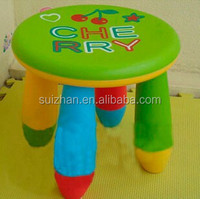 Wholesale price kids small seat plastic cute children stool