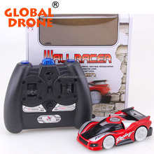 Programmable remote control wall climbing car rc high speed wall racer with super adsorption force rc wall climbing car toys