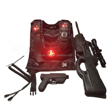 Laser tag equipment 2018 outdoor game wholesale for toy gun for kids adults