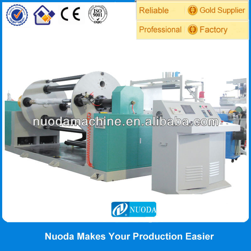 Mitsubishi PLC Control bopp cpp laminate film Cast Embossed Film Production Line