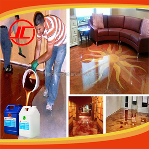 Water Clear Crystal Epoxy Resin AB Glue for Epoxy Aggregate Flooring