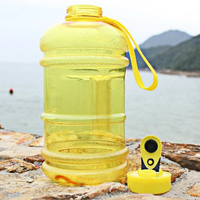 2.5L jug Mixed color 2.2 liter water bottle BPA free hot sales big volume water bottle 2.5L with wide mouth lid