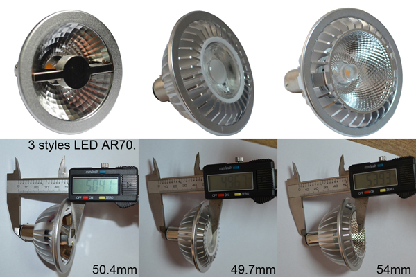 IES file available 2637lm 30W LED AR111