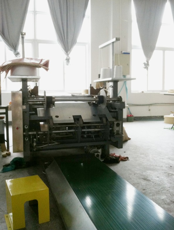 Auto PP Woven Bag Top & Bottom Sewing Machine