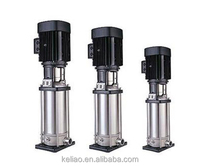 Vertical stainless multistage high pressure water pump